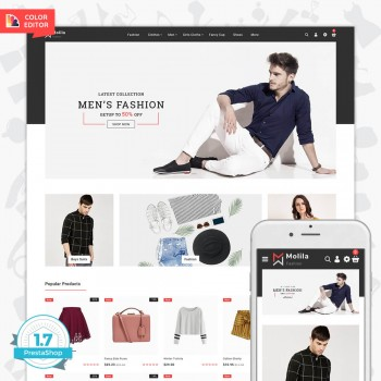 Molila - The Fashion PrestaShop Theme