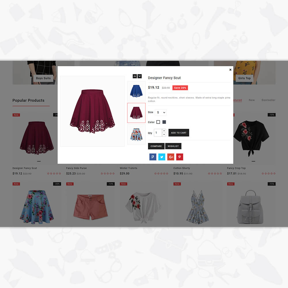 Molila - The Fashion Store Template