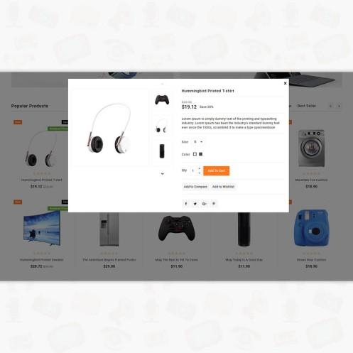 Quickby - Electronics PrestaShop Theme