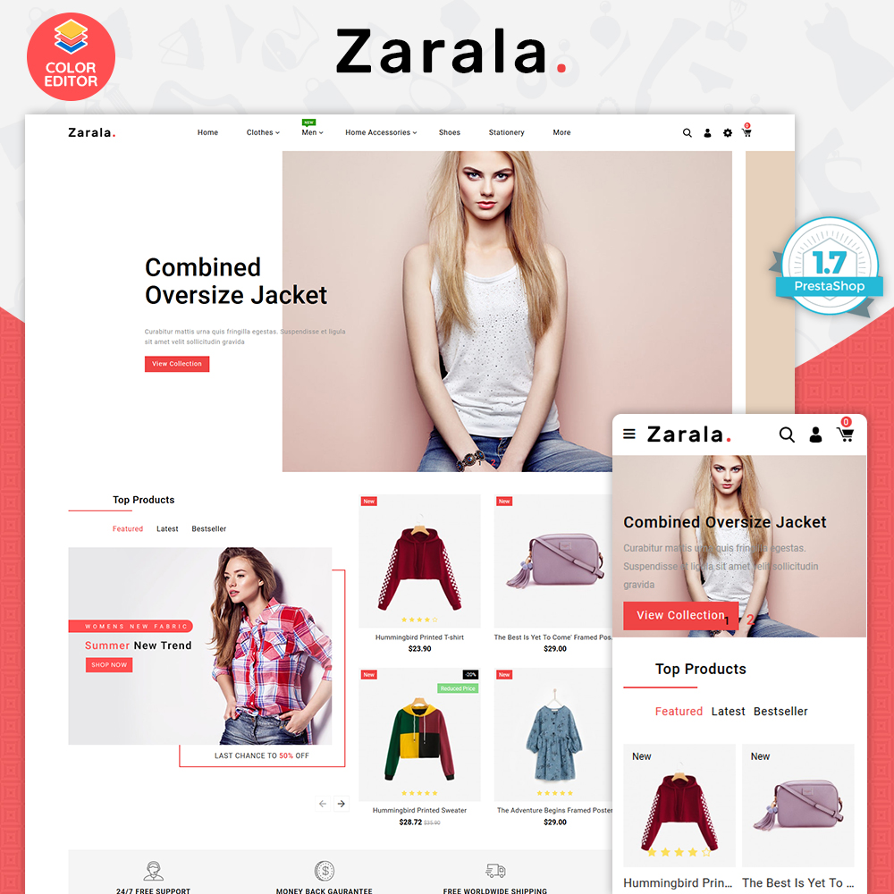 Zarala - The Fashion Store Template