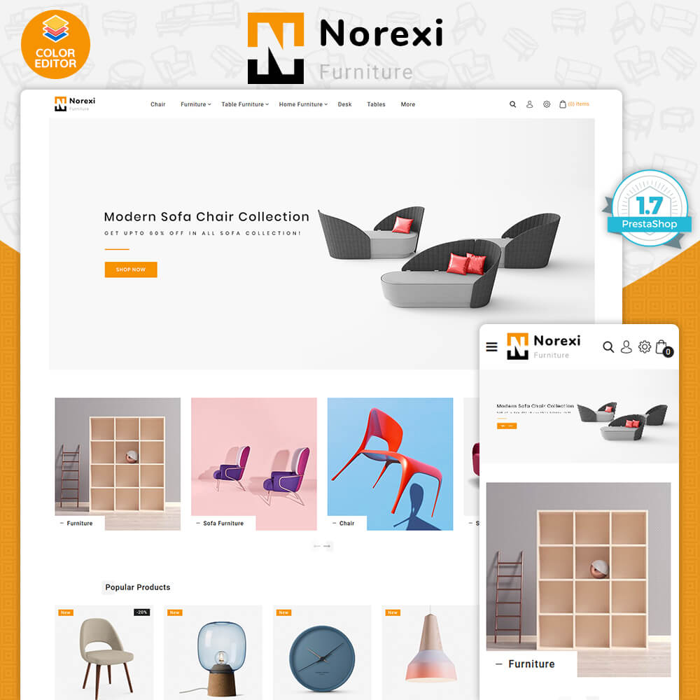 Noxeri - The Best Furniture Store Template