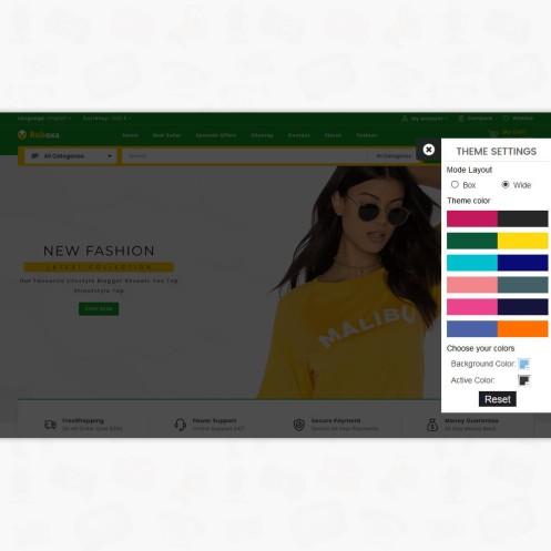 Robaxa - The MultiStore PrestaShop Theme