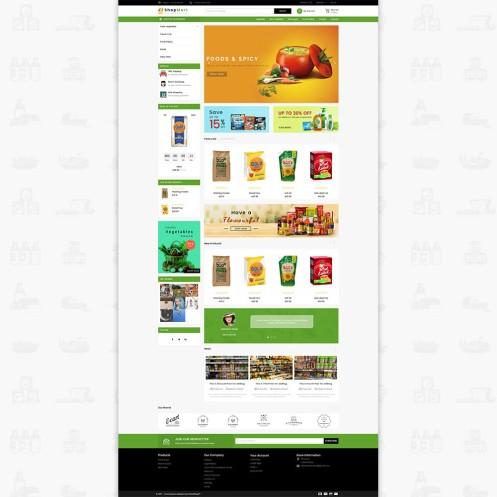 ShopMart - The Special Grocery PrestaShop Theme