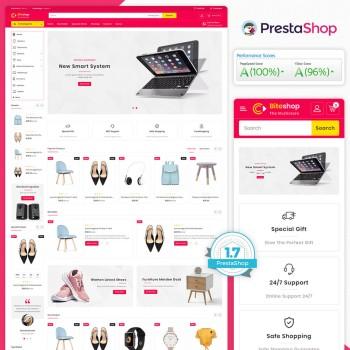 Biteshop - The MultiStore PrestaShop Theme
