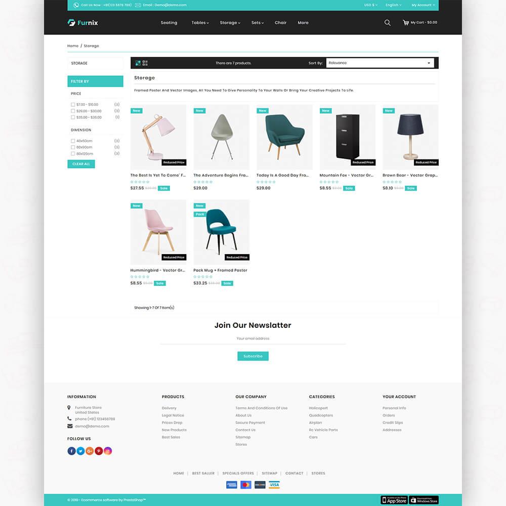 Furnix - The Furniture Store Template
