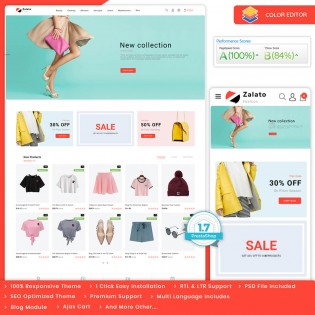 Zalato - The Multi Boutique PrestaShop Theme