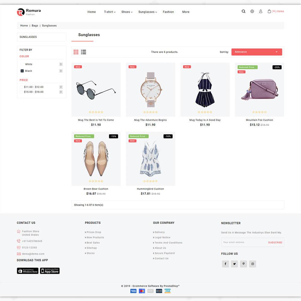 Romura - The Fashion Store Template