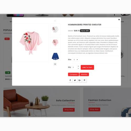 PayMarket - The Multistore PrestaShop Theme