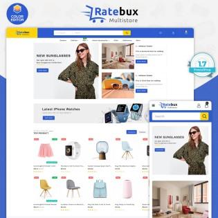 Rutebux The MultiStore PrestaShop Theme