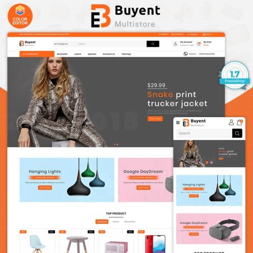 Buyent - The Best MultiStore PrestaShop Theme