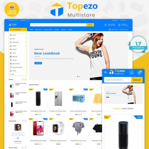 Topezo - The Best Electronics PrestaShop Theme