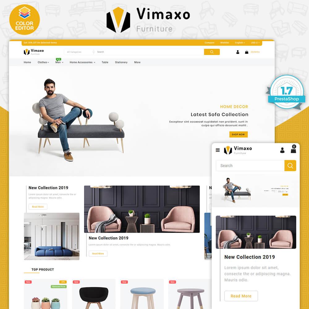 Vimaxo Furniture Store Template