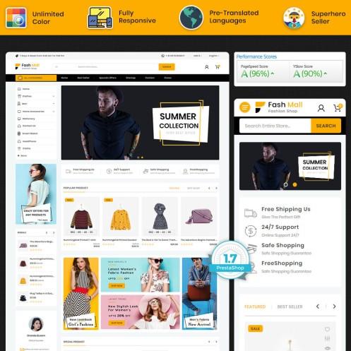 Fashmall - The Fashion PrestaShop Theme