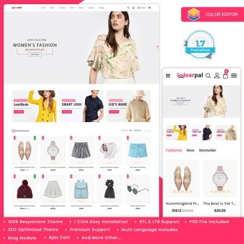Wearpal - The Fashion PrestaShop Theme