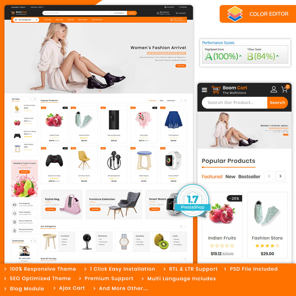 Boomcart - The MultiStore Theme Template