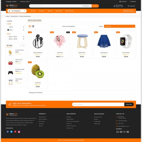 Boomcart - The MultiStore PrestaShop Theme