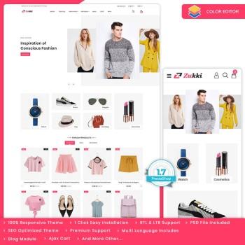 Zukki - Fashion Premium Prestashop Theme