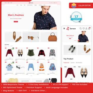 Zaraso - The Fashion PrestaShop Theme