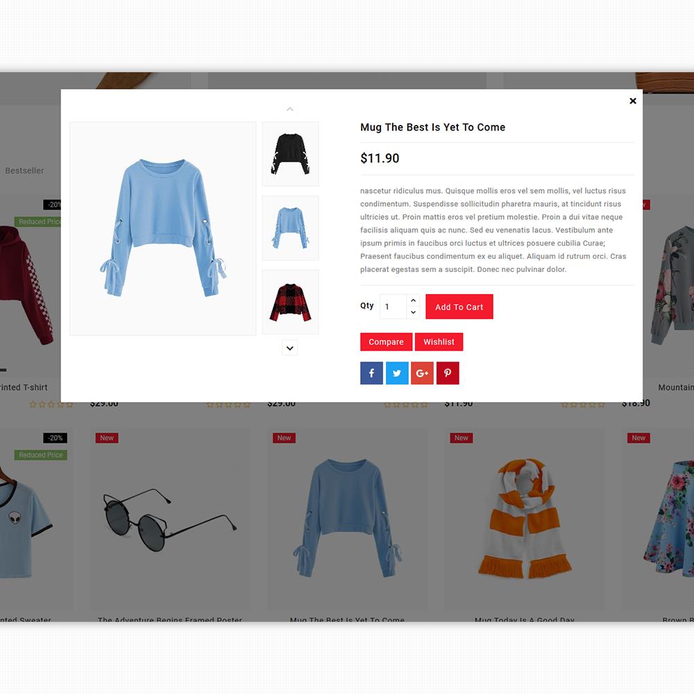 Zaraso - The Fashion Store Template