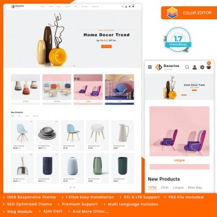 Decorivo - The Furniture PrestaShop Theme