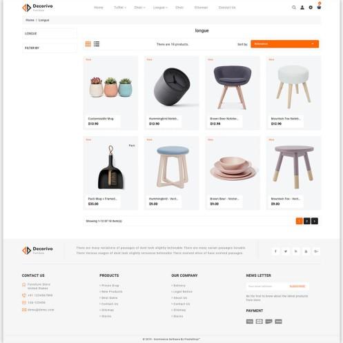 Decorivo - The Furniture PrestaShop Theme