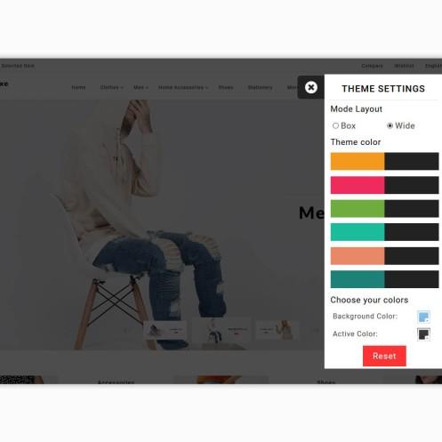 Meluxe - The Fashion PrestaShop Theme