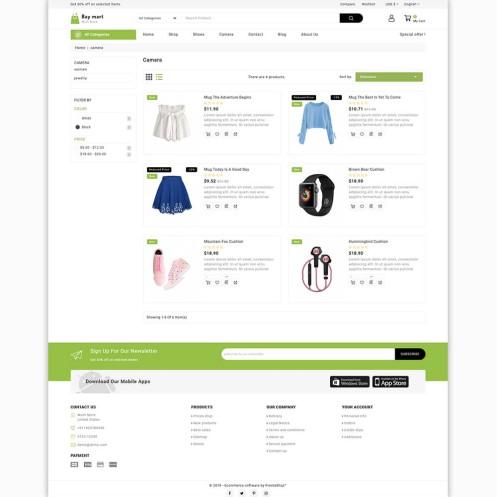 Baymart - The Best MultiStore PrestaShop Theme