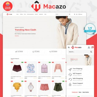 Macazo - The Fashion Premium PrestaShop Responsive Theme