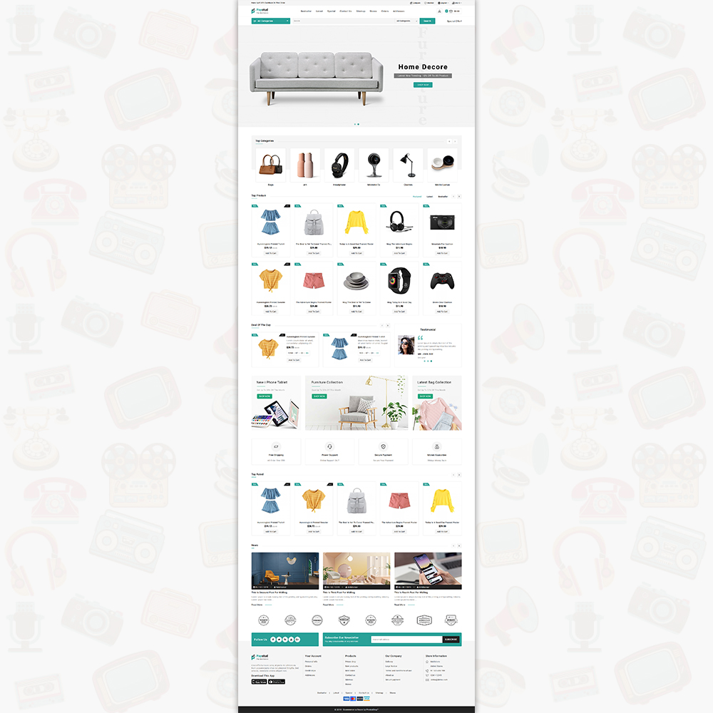 Paystud - The MultiStore Theme Template