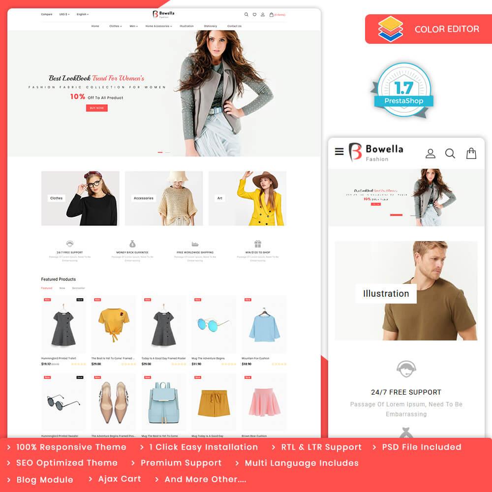 Bowella - The Fashion Store Template
