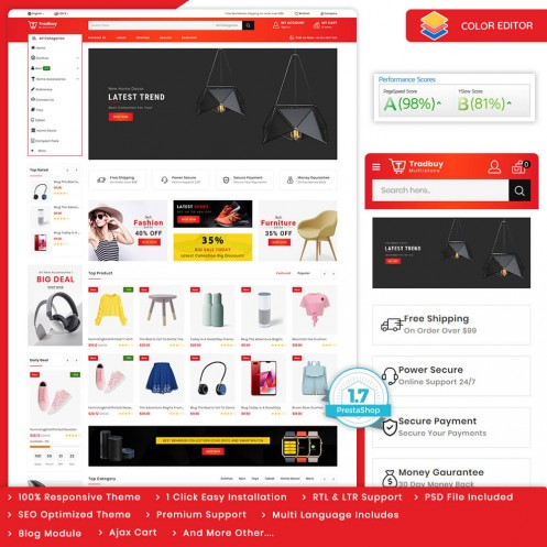 Tradbuy - The Best MultiStore Theme Template