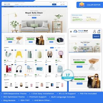 CloudMart - The MultiStore PrestaShop Theme