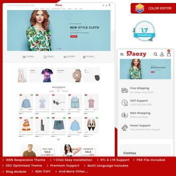 Raozy - The Fashion PrestaShop Theme