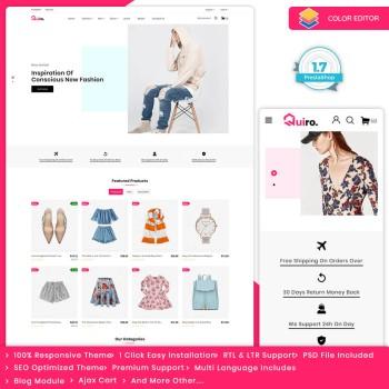 Quiro - The Fashion PrestaShop Theme