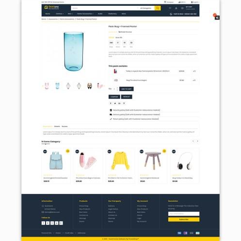 Quickpay - The MultiStore PrestaShop Theme