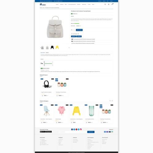 Shopbux - The MultiStore PrestaShop Theme