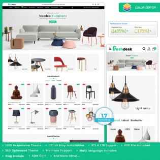 Fashdesk - The Best Furnitured PrestaShop Theme