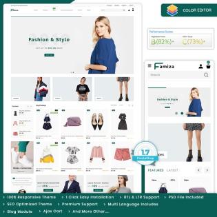 Famiza - The Fashion PrestaShop Theme