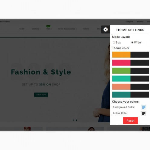 Famiza - The Fashion PrestaShop Theme