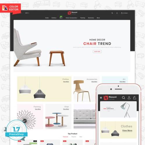 Nexuni - The Furniture Store Template