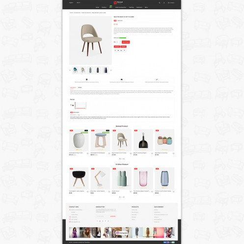 Nexuni - The Furniture PrestaShop Theme