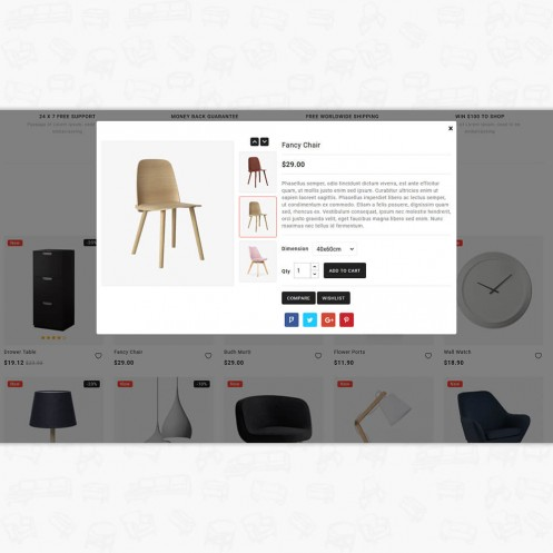 Duroxa - The Furniture PrestaShop Theme