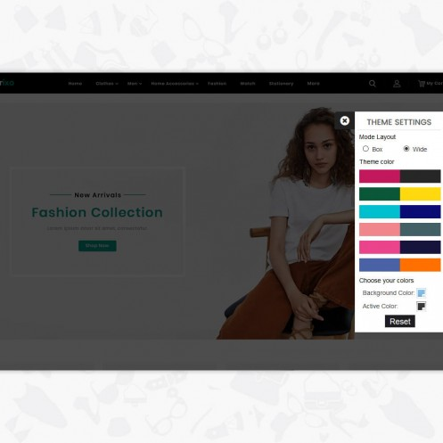 Sprixo - The Fashion PrestaShop Theme