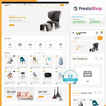 Aertona - The Furniture PrestaShop Theme