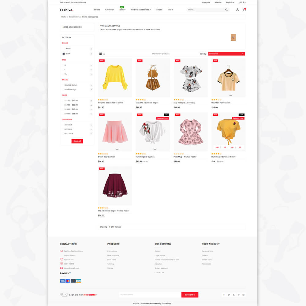 Fashivo - The Fashion Store Template
