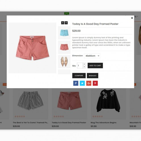 Cozena - The Best Fashion PrestaShop Theme
