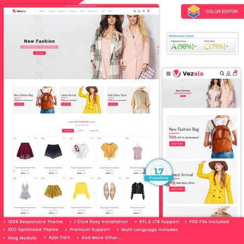 Vezala - The Fashion PrestaShop Theme