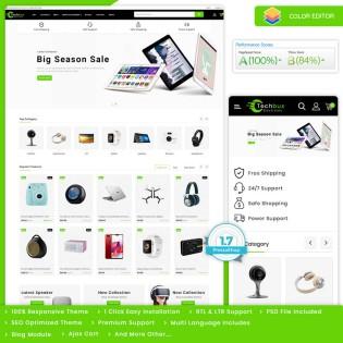 Techbux - The Electronics PrestaShop Theme