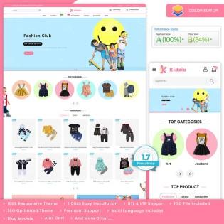 Kidzia - The Best Kids PrestaShop Theme
