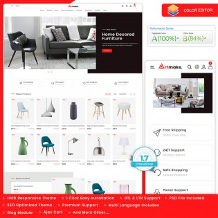 Artmake - The Furniture PrestaShop Theme